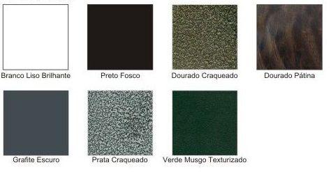 Lustre Versailes C/ 4 Globos - FUNDIÇÃO VESUVIO