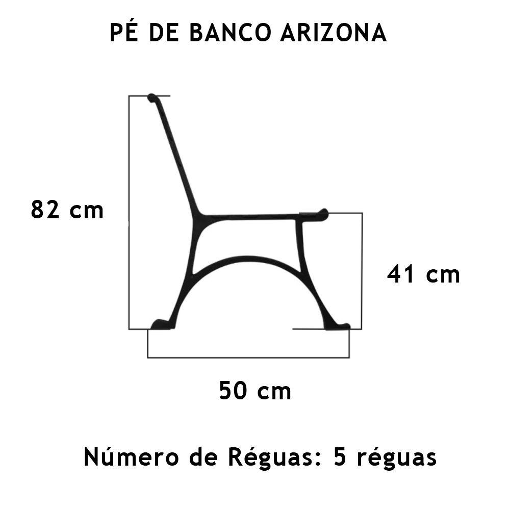 Par Pé De Banco Arizona - FUNDIÇÃO VESUVIO