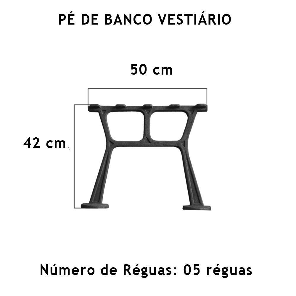 Pé De Banco Vestiário - FUNDIÇÃO VESUVIO