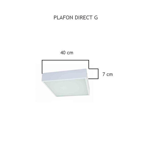 Plafon Direct G - FUNDIÇÃO VESUVIO