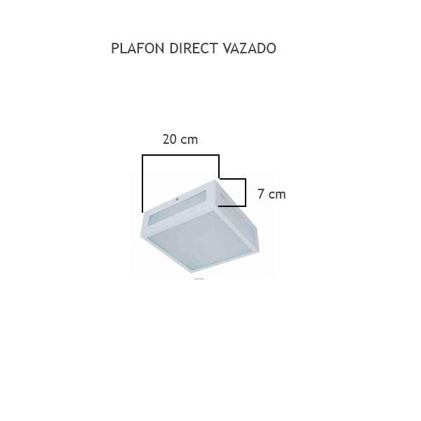 Plafon Direct Vazado - FUNDIÇÃO VESUVIO
