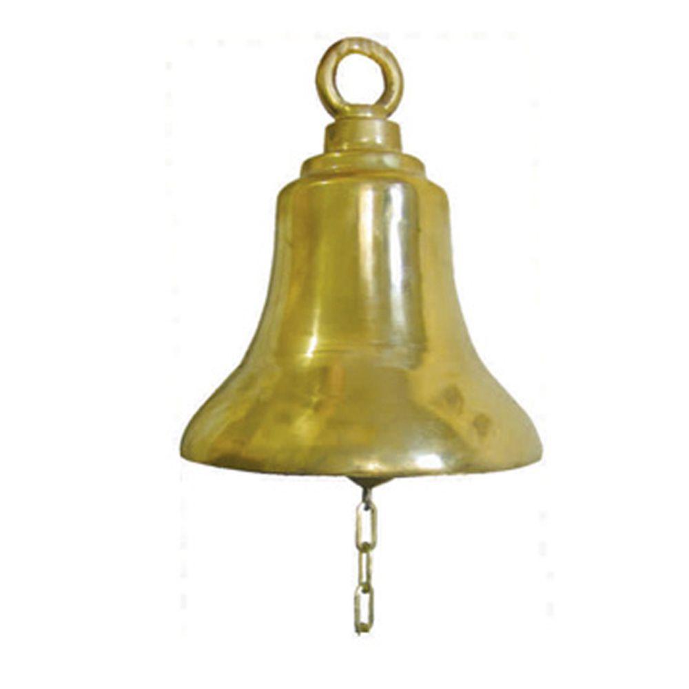 Sino De Bronze 08´ Com Argola - FUNDIÇÃO VESUVIO