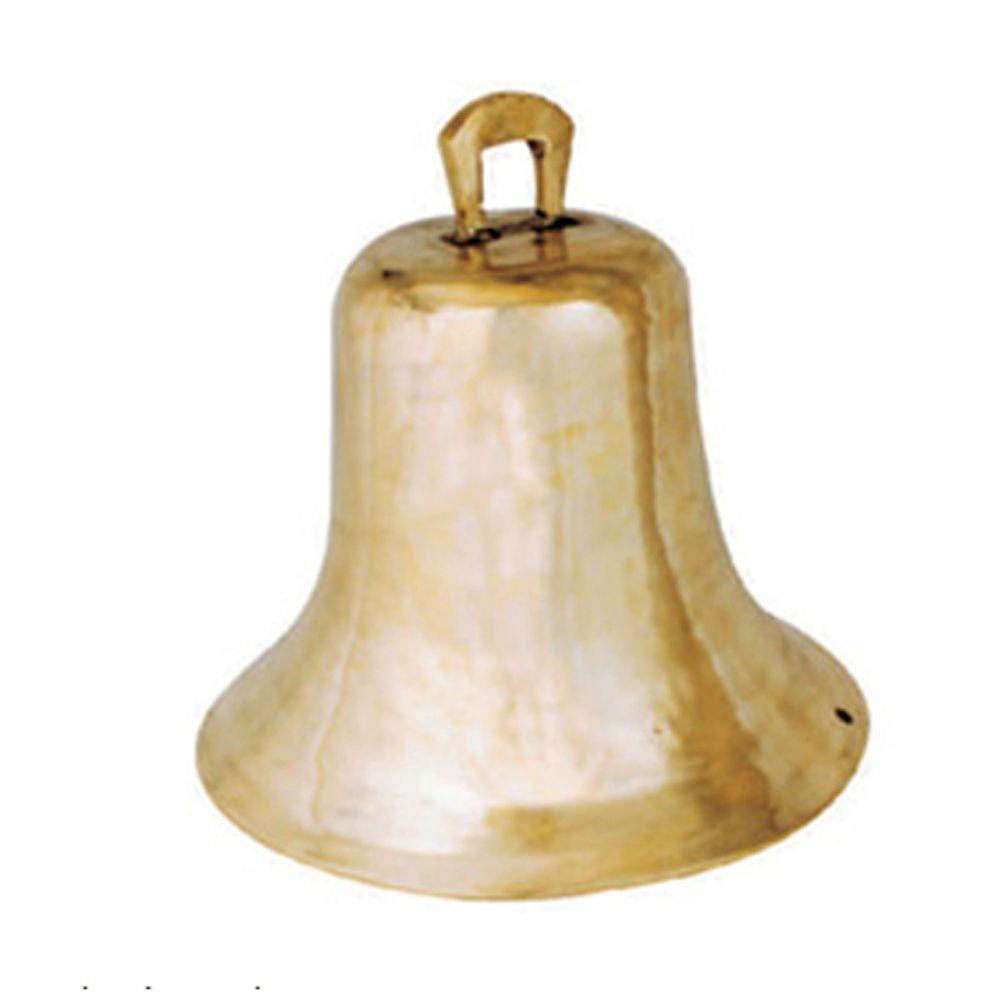 Sino Liso De Bronze P/ Chácara Ou Igreja 27 A 30 Kg - FUNDIÇÃO VESUVIO