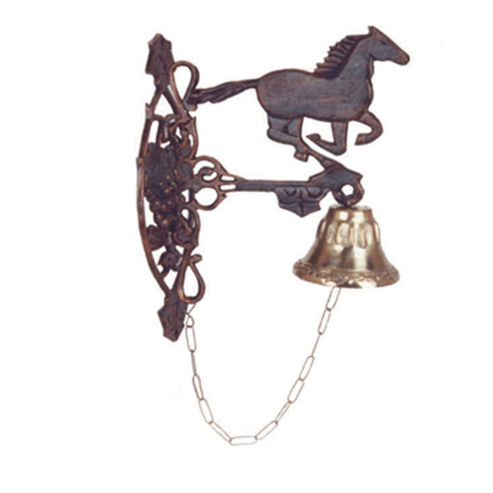 Suporte Cavalo Com Sino 4 - FUNDIÇÃO VESUVIO