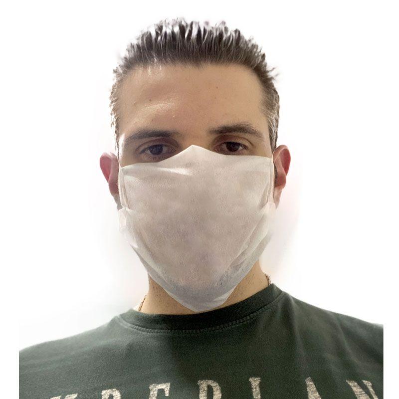 10X - Mascara Rosto Dupla Proteção Higiênica Pacote 10 Peças Tiger Favix  - HARDFAST INFORMÁTICA