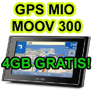 Gps Mio Moov 300 Pacote Full Frete Gratis Tela 4´3 Brasil 09  - HARDFAST INFORMÁTICA
