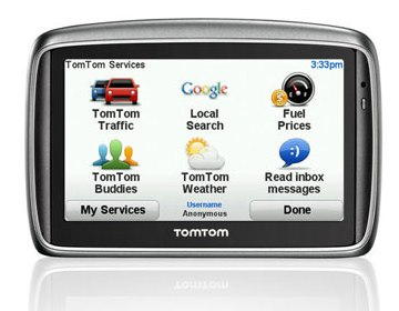 Gps TomTom 740 Live - Brasil 2012 Lançamento ! C/ Google  - HARDFAST INFORMÁTICA