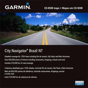 Mapa Brasil para GPS Garmin City Navigator Brazil NT  - HARDFAST INFORMÁTICA