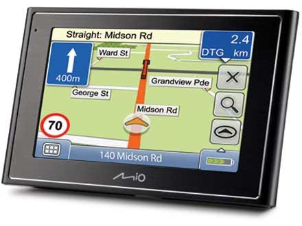 Gps Mio Moov 310 / 2 geração / 5 Navegadores / 5GB Espaço  - HARDFAST INFORMÁTICA