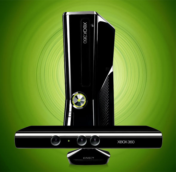 Xbox 360 Slim C/ Kinect Sensor completo Full HD Nota Fiscal  - HARDFAST INFORMÁTICA