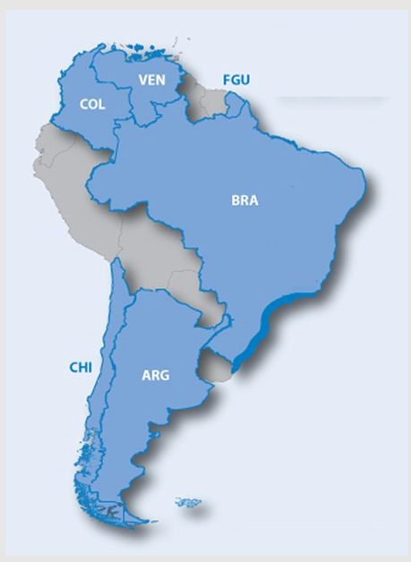 Mapa Garmin America do Sul 2016 para Gps garmin City Navigator South America NT  - HARDFAST INFORMÁTICA