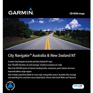 Mapa Australia e Nova Zelandia para gps garmin City Navigator Australia & New Zeland NT  - HARDFAST INFORMÁTICA