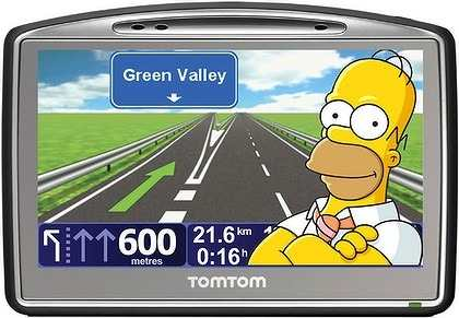 Gps Tomtom Go 730 Bluetooth Fm Brasil 2012 Radares completo  - HARDFAST INFORMÁTICA
