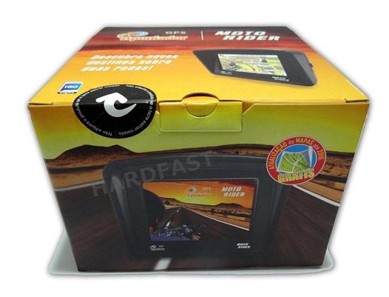 Gps Moto Rider Apontador C/ Fone Bluetooth A Prova Agua 128 Memoria MT350BT  - HARDFAST INFORMÁTICA