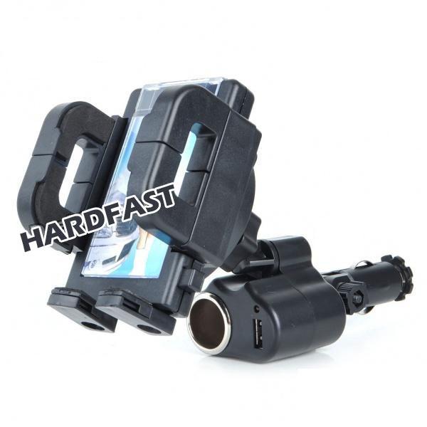 Suporte Celular Gps 3x1 Usb acendedor Carregador P/ Apple BR  - HARDFAST INFORMÁTICA