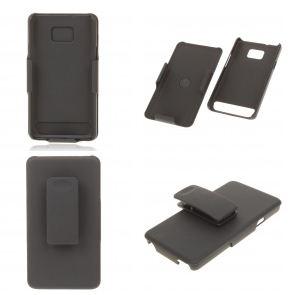 Capa Premium Samsung Galaxy S2 i9100 Clip Belt Plastico Slider  - HARDFAST INFORMÁTICA
