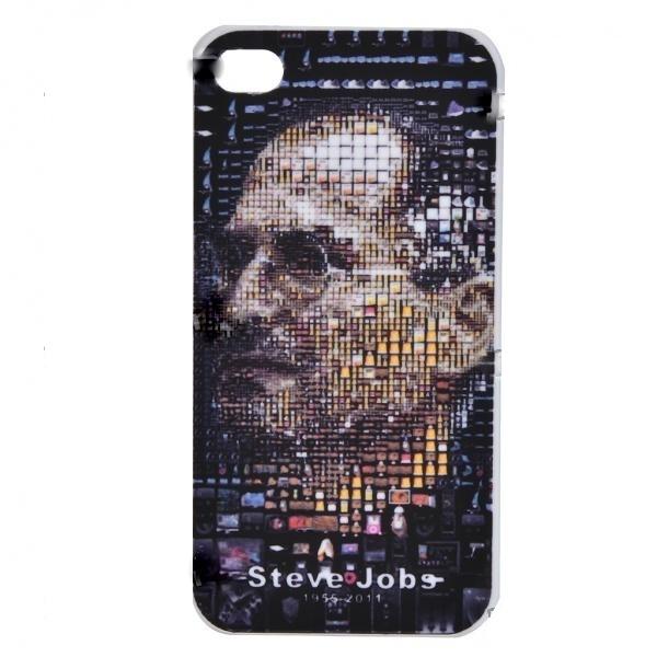 Capa Apple Iphone 4 / 4GS em Homenagem a Steve Jobs Serie Limitada  - HARDFAST INFORMÁTICA