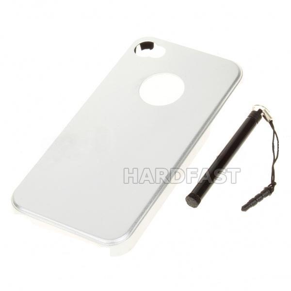 Capa Case Bag Aluminio Iphone 4 4s Com Caneta Styllus gratis  - HARDFAST INFORMÁTICA