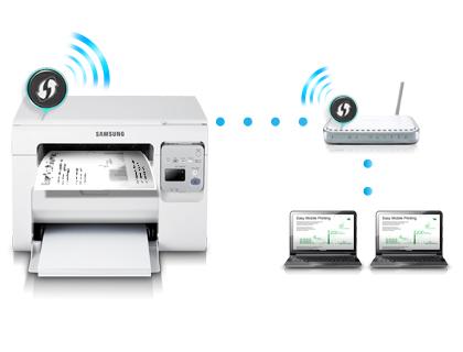 Impressora Multifuncional Laser Wireless WIFI Samsung USB 3405W  - HARDFAST INFORMÁTICA