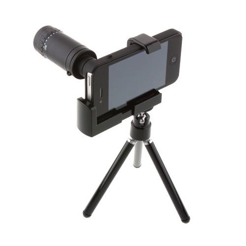 Iphone 4 4s Telescopio com Tripe, 3x F1.1 Lentes Box Zoom 8X  - HARDFAST INFORMÁTICA