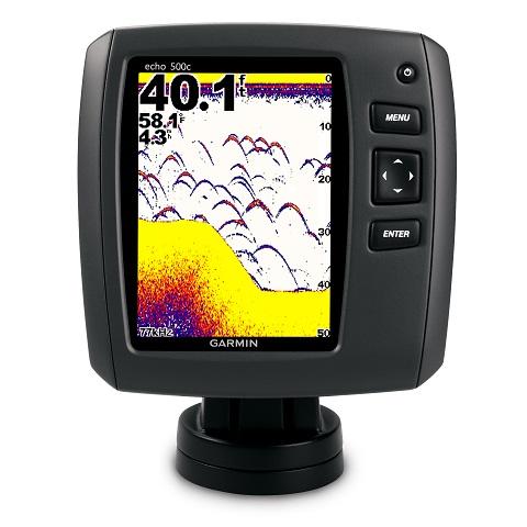Sonar Fishfinder Garmin Echo 500c tela 5´ Colorido 500 RMS  - HARDFAST INFORMÁTICA