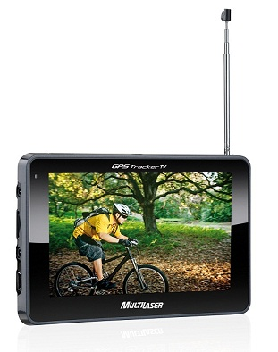 Gps Multilaser Tracker 2 Tv Digital Camera Re tela 4.3 Av-in  - HARDFAST INFORMÁTICA