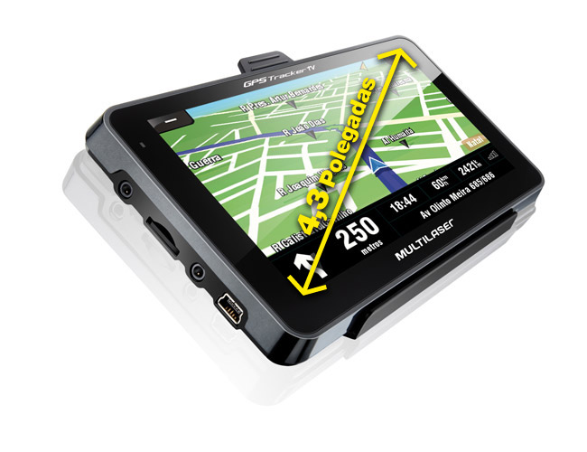 Gps Multilaser Tracker 2 4.3 Tv Digital Frete Grátis Radar  - HARDFAST INFORMÁTICA
