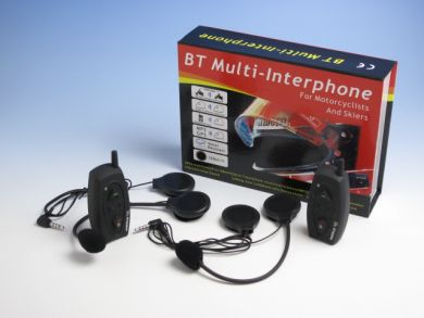 Intercomunicador Bluetooth Moto Capacete Kit 2x par Gps mp3  - HARDFAST INFORMÁTICA