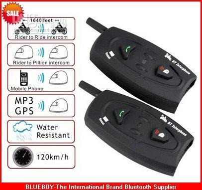 Intercomunicador Bluetooth Moto Capacete Kit 2x par Gps mp3  - HARDFAST INFORMÁTICA