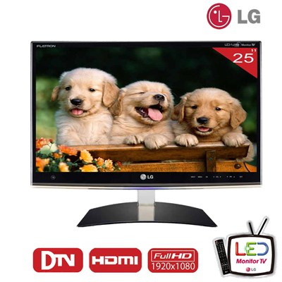 Monitor Tv Led Lcd Lg 25´ Tv digital Integrado HDMI Full HD Xbox Playstation  - HARDFAST INFORMÁTICA
