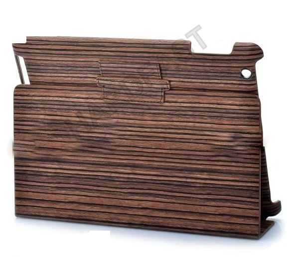Capa Ipad 3 New Ipad madeira Wood Textured Wood Pattern PVC  - HARDFAST INFORMÁTICA