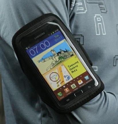 Armband Samsung Galaxy Note n7000 i9220 Suporte Braço Capa  - HARDFAST INFORMÁTICA