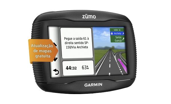 Gps Garmin Zumo 390LM Prova Agua Pancada Moto Bluetooth Nuvi Maps Life Time Atualização Gratis Brasil  - HARDFAST INFORMÁTICA