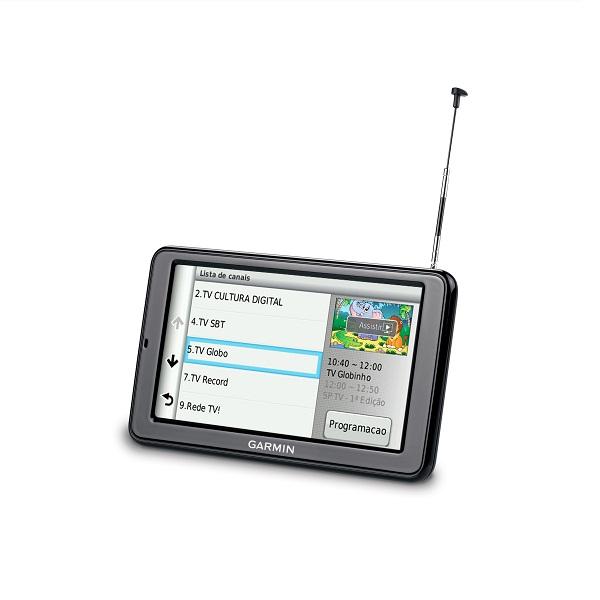 Gps Garmin Nuvi 2580TV Tv digital Bluetooth tela 5 Radares Brinde Mapa Mundo Brasil   Usa   Europa  - HARDFAST INFORMÁTICA