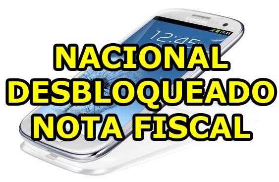 Galaxy S3 I9300 Samsung Celular Nacional Desbloqueado Quad Core  - HARDFAST INFORMÁTICA