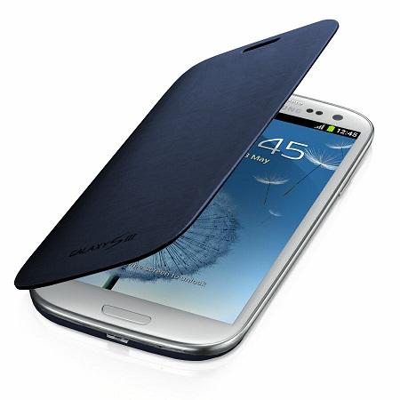 Capa Case Flip Cover Galaxy S3 I9300 Samsung C/ Pelicula (1547 + 1503)  - HARDFAST INFORMÁTICA