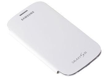 Capa Galaxy S3 i9300 Branca Samsung Flip Cover Box Elite Branco  - HARDFAST INFORMÁTICA