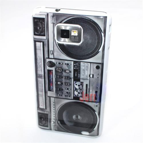 Capa Samsung Galaxy S2 i9100 Fita Gravador Som Retor Vintage  - HARDFAST INFORMÁTICA