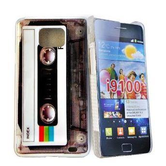 Capa Retro Galaxy S2 i9100 K7 Fita Cassete Frete Grátis 3M  - HARDFAST INFORMÁTICA