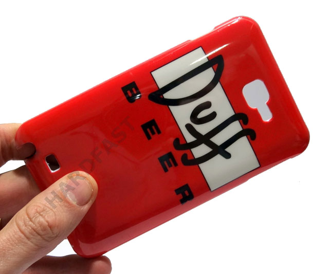 Capa Duff Galaxy Note n7000 I9220 Cerveja Samsung Beer Case  - HARDFAST INFORMÁTICA