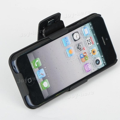 Capa Apple Iphone 5 Cinto Clip Belt Suporte Mesa 2x peças  - HARDFAST INFORMÁTICA