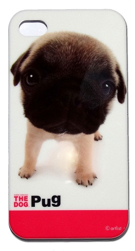 Capa Case Apple Iphone 4 4s The Pug Dog Ultra Slim Proteção  - HARDFAST INFORMÁTICA