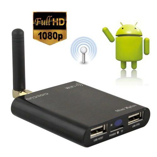 Media Player TvBox Wifi Android Hdmi Usb Dvix Full Hd mkv  - HARDFAST INFORMÁTICA