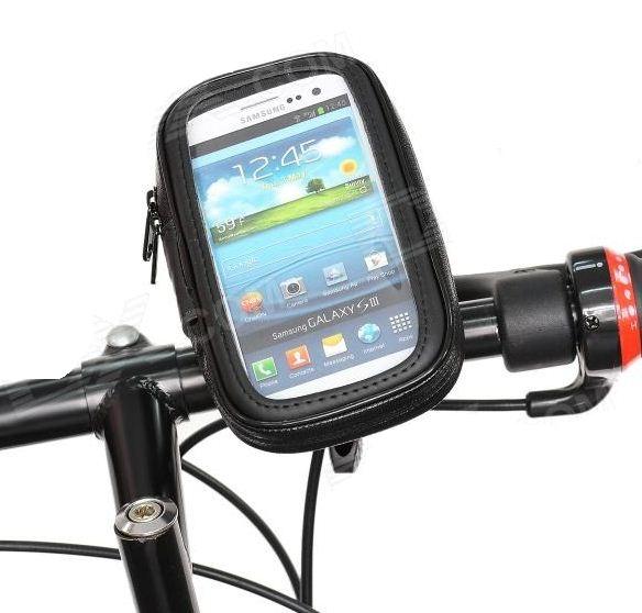 Suporte Bike Moto Galaxy S3 S2 note Motorola Razr Iphone 5 LG Arc  - HARDFAST INFORMÁTICA