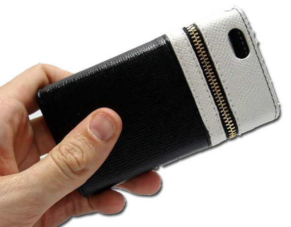 Capa Carteira Iphone 5 5s couro Ziper Dinheiro Frete Grátis  - HARDFAST INFORMÁTICA