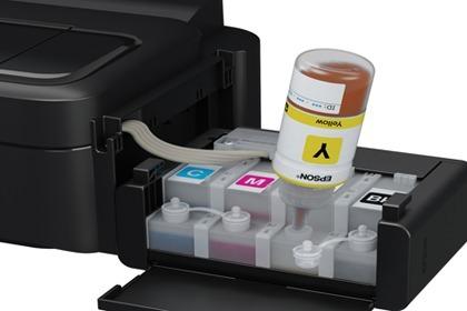 Impressora Multifuncional Epson l355 Bulk Ink Colorida WIFI NF-e  - HARDFAST INFORMÁTICA