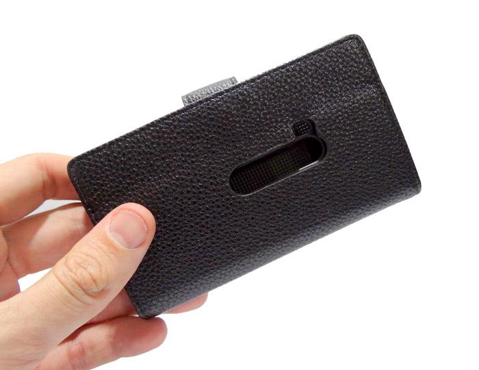 Capa Carteira Lumia 920 Couro Pu Nokia Black Frete Grátis  - HARDFAST INFORMÁTICA