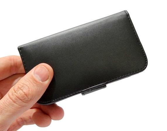 Capa Carteira Galaxy S3 Mini i8190 Couro Black Samsung GSM  - HARDFAST INFORMÁTICA