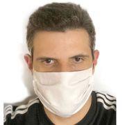 10x Mascaras Higiênicas Tecido Muito Confortável Qualidade Antialérgico Elástico