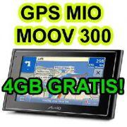 Gps Mio Moov 300 Pacote Full Frete Gratis Tela 4´3 Brasil 09